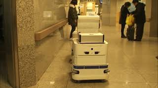 병원 물류운반 로봇 Sbot2-MD, Hospital …