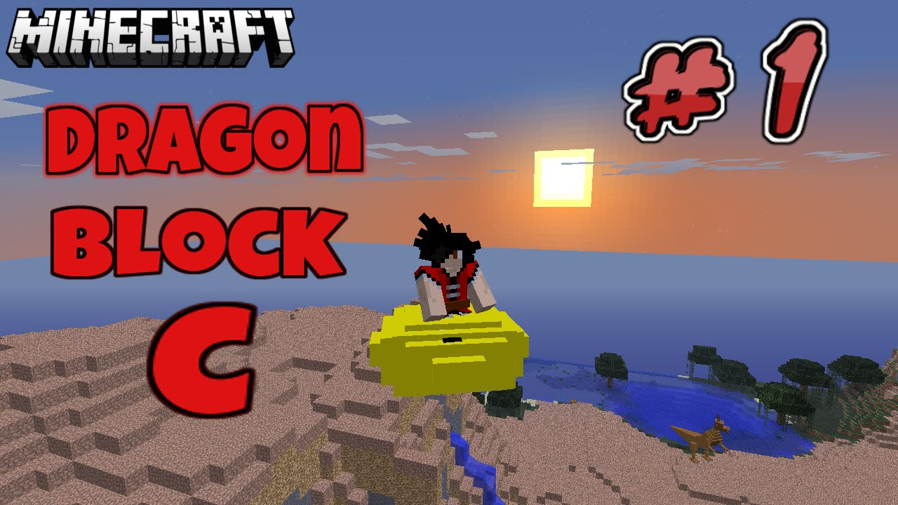 dragon block c how to start