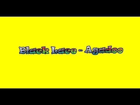 Black Lace ~ Agadoo {Lyric Video}