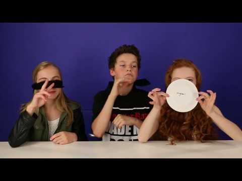 Pringles Challenge with Lauren Orlando & Francesca Capaldi