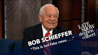 Bob Schieffer Knows U.S. Presidents, Says This One