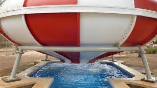 Aqualand El Arenal - Tornado Trichterrutsche | Space Bowl Slide