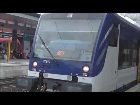 Der neue Regioshuttle (VT 650) der Niederbarnimer Eisenbahn (NEB)
