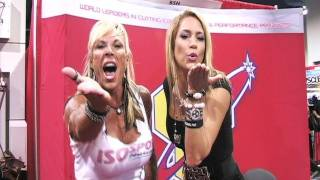 Fitness Super Star Jennifer Nicole Lee and Lauren Powers for ISOsport Nutrition and BSN