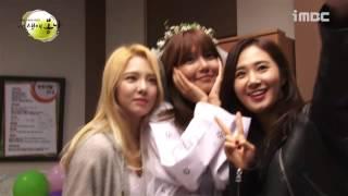 141029 Yuri and HyoYeon visited SooYoung