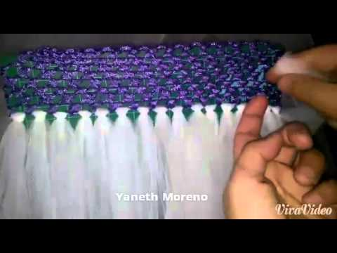 Como hacer un tutu con una bandana tejida youtube - Como hacer una claraboya ...