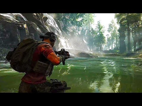 GHOST RECON BREAKPOINT Gameplay Demo (2019)