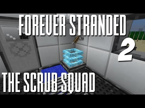 Modded Minecraft Forever Stranded: Episode 2 - How To Cool Down Fast In The Desert!