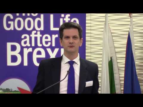 Steve Baker MP Introduced 'The Good Life After Brexit' Conference on 10th February 2016