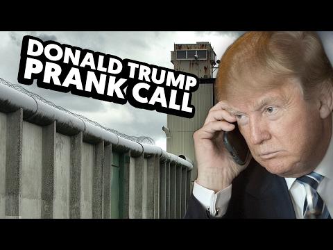 DONALD TRUMP PRANK CALL!