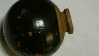 Japanese Hand Grenade of Clay手榴弾 - Rare video clip