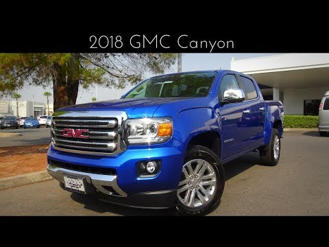 2018 GMC Canyon 3.6 L V6 Review & Test Drive