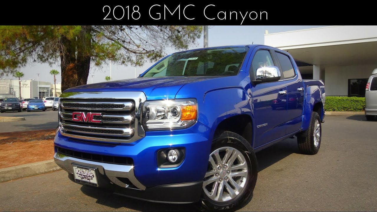 2018 GMC Canyon 3.6 L V6 Review & Test Drive - YouTube