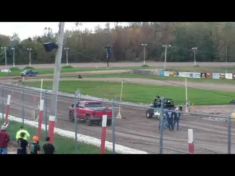 Utica Rome Speedway Truck Drag: Video 1 of 7