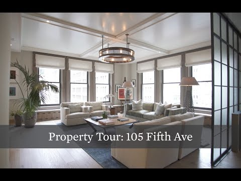 Property Tour: Turn-Key, Customized Pre-War Loft at 105 Fifth Ave