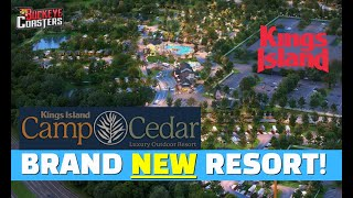 Kings Island Just Announced Their Brand New Resort - Coming to Kings Island 2021!