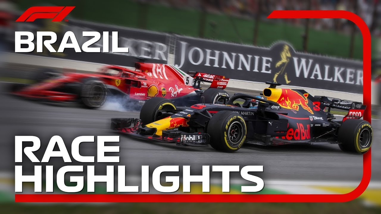 2018 Brazilian Grand Prix: Race Highlights - YouTube