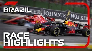 2018 Brazilian Grand Prix: Race Highlights Video