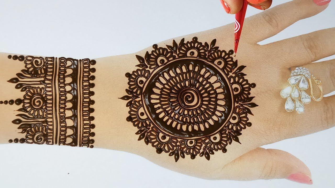 Fullhand Mehandi Designs- New Karwa chauth Mehndi Designs 2020 -तीज त्यौहार के मेहँदी
