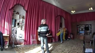 Репетиция песни в ДК г.Ейска