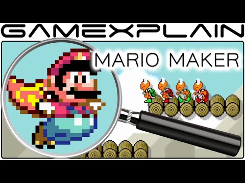 Mario Maker Analysis - Nintendo Direct Trailer (Secrets & Hidden Details)
