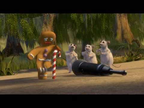 a Shrek karaoke dance party