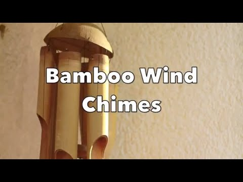 Bamboo Wind Chime with Light Breeze