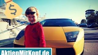 Aktien oder Lamborghini? 100.000 € Erbschaft investieren - 3 Szenarien für große Kapitalbeträge