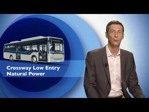 IVECO BUS - The new Crossway Low Entry Natural Power
