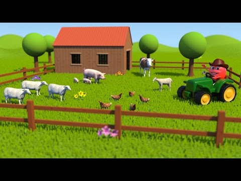 Farm Animal Sounds - Learning for Kids with Bob