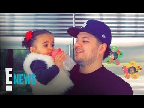 Dream Kardashian Throws Her Dad Rob Kardashian a Birthday Party   E! News