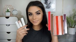 Kylie Lip Kits | FOOD WEAR TEST, swatches & review