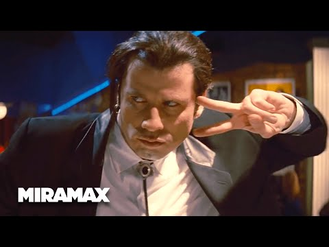 Pulp Fiction  'I Want To Dance' HD  Uma Thurman, John Travolta  MIRAMAX