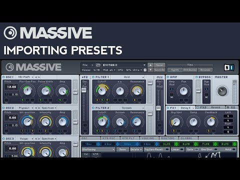 Massive Tutorial: How to Import Presets