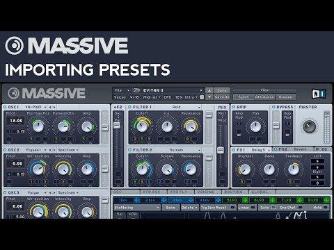 NI Massive Presets & Soundbanks (Updated Bundle 2018) | SoundTips