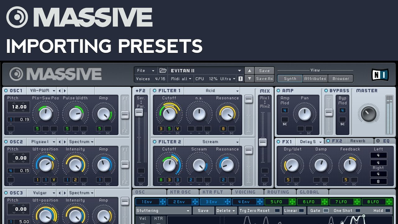 LIST OF FREE AND PAID MASSIVE PRESETS - Beatmodo