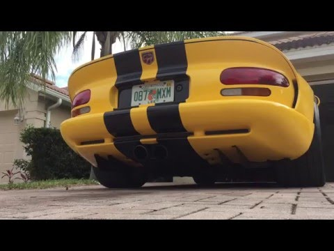 My Dodge Viper GTS Review
