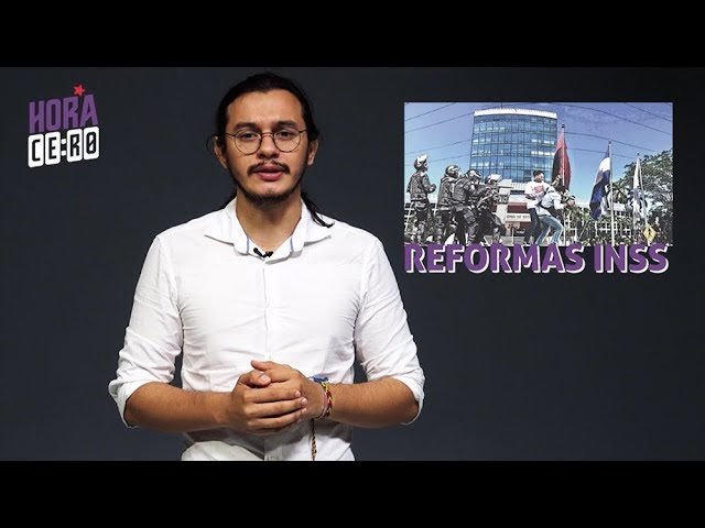 ¡ALERTA NICARAGUA! Ortega Murillo impone reformas del INSS