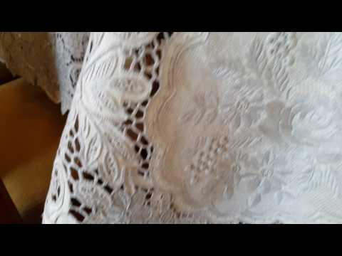 Best lace in the world?! Antique handmade lace - beautiful embroidery work!