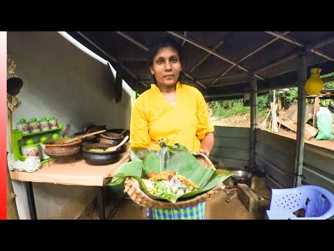 COUNTRYSIDE Cooking (Some Of The Best Curry & Rice) In Sri Lanka + MASSIVE Market Tour