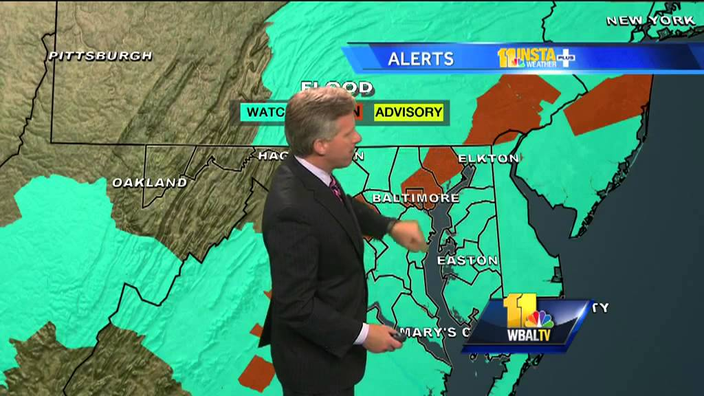 Maryland Weather: Flash Flood Watch In Effect Until Monday Evening