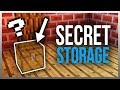 ✔️ 5 SECRET Storage Ideas You NEED To Build! (Tutorials Included)