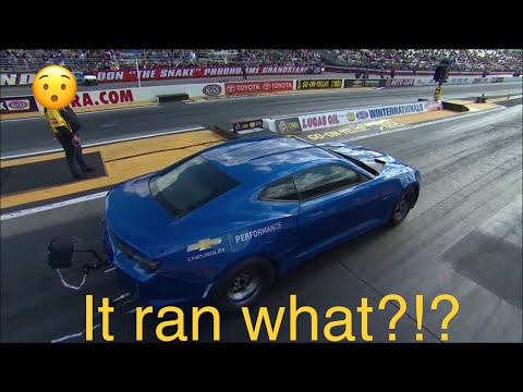 E-Copo Camaro Hits The Drag Strip: End Of Drag Racing As We Know It?