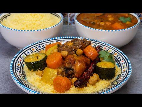 couscous-traditionnel-(recette-du-maghreb)---recette-détaillée---cuisson-en-cocotte-minute