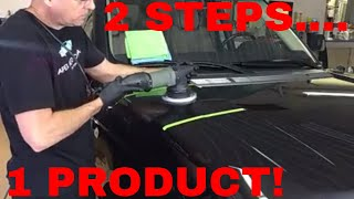 How to do a 2 step correction...Using just ONE product!! Plus many more tips!!