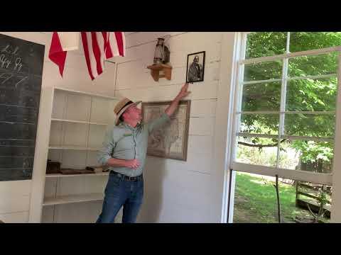 Mayborn At Home- Virtual Visits Village Schoolhouse Tour