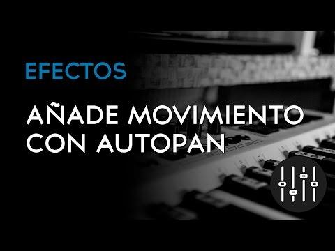 Añade movimiento con Autopan