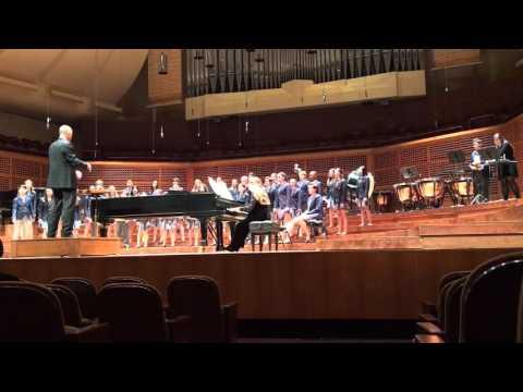 """Mirman School Concert Singers perform """"Ban, Ban Caliban"""""""