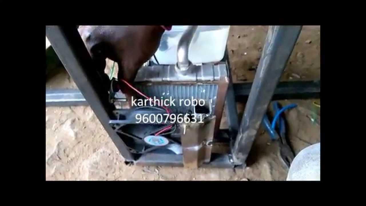 solar air cooler mini project pdf