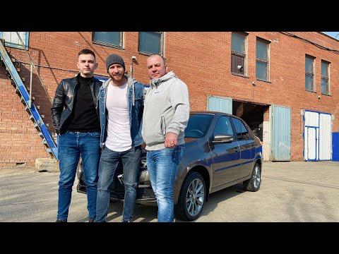 Выдача Lada Granta 2020г. Luxe Prestige в цвете Кориандр нашему клиенту с Волгоградской области!